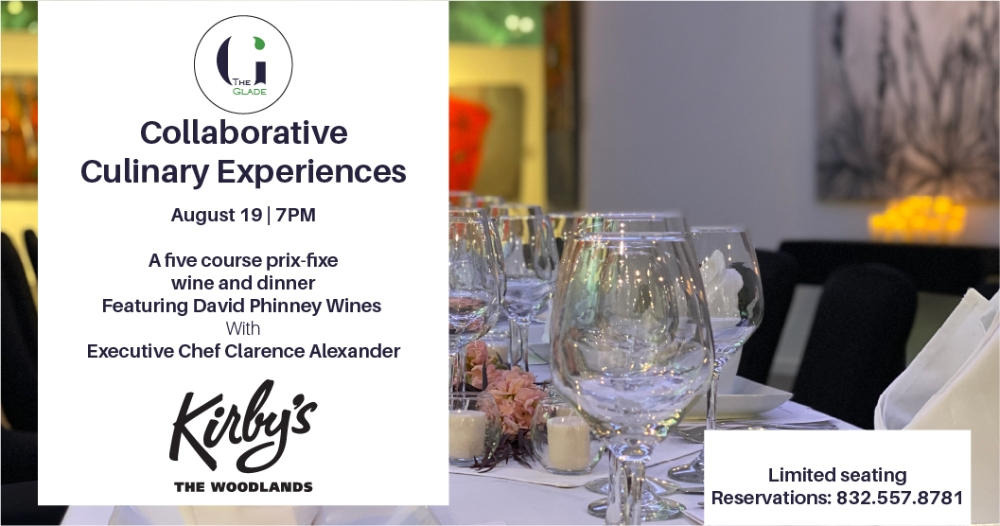 Collaborative Culinary Experiences - Featuring David Phinney Wines Paired With A Five Course Prix Fixe Dinner