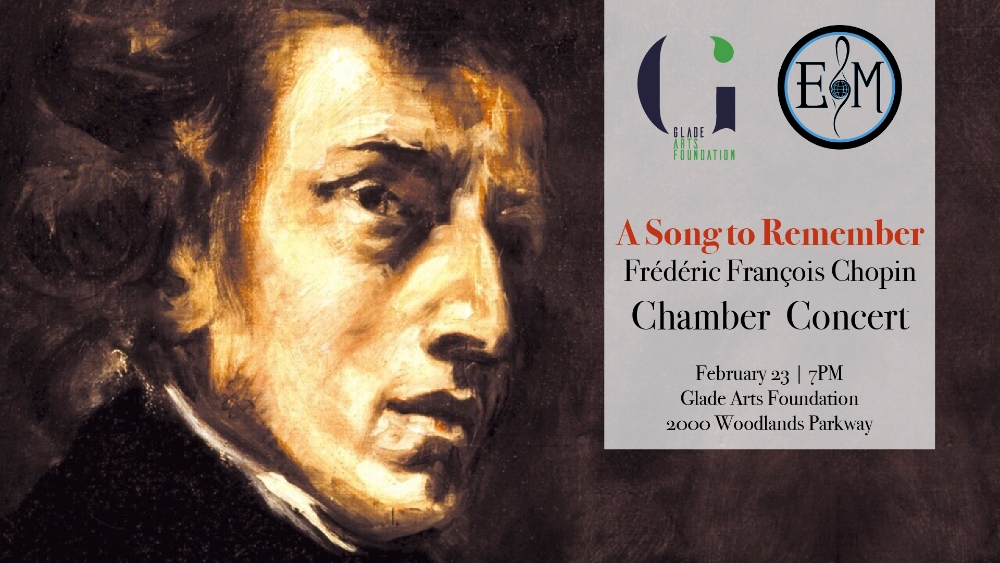 Ethos Chamber Music Series at Glade Presents: Chopin - A Song to Remember