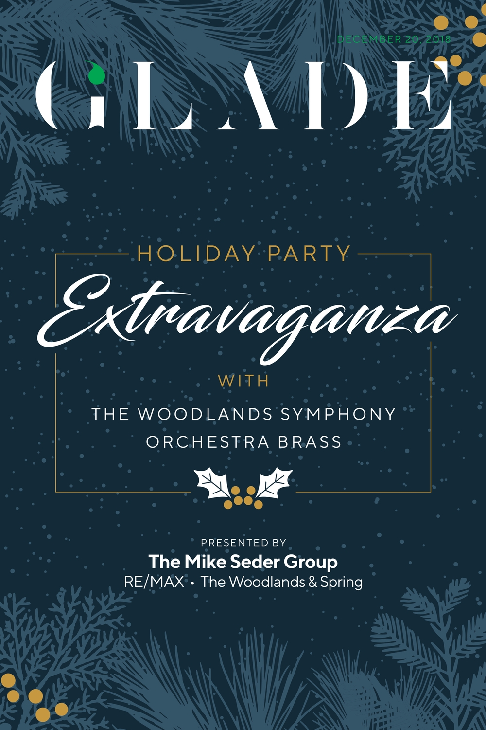 Holiday Party with Woodlands Symphony Orchestra