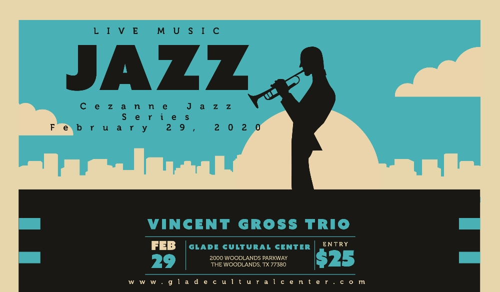 Cezanne Jazz Series at Glade: Vincent Gross Trio