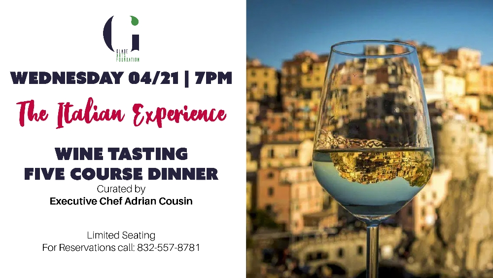 The Italian Experience - Wine Tasting and Curated Dinner