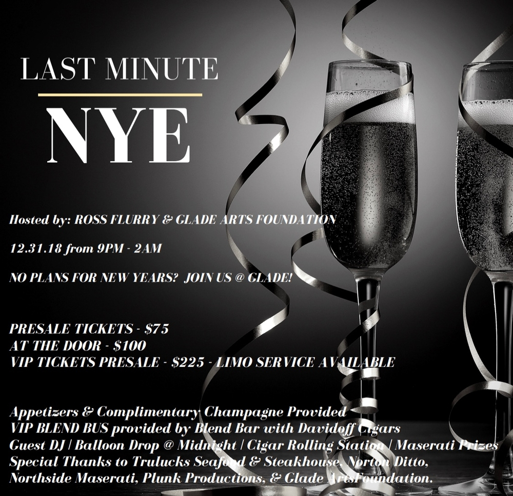 Last Minute NYE Party