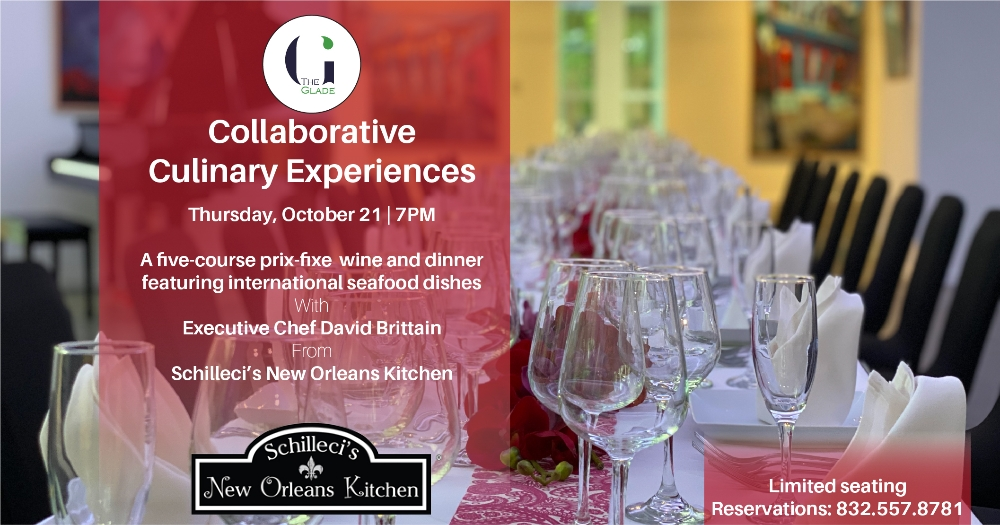 Collaborative Culinary Experiences Wine Dinner Tasting