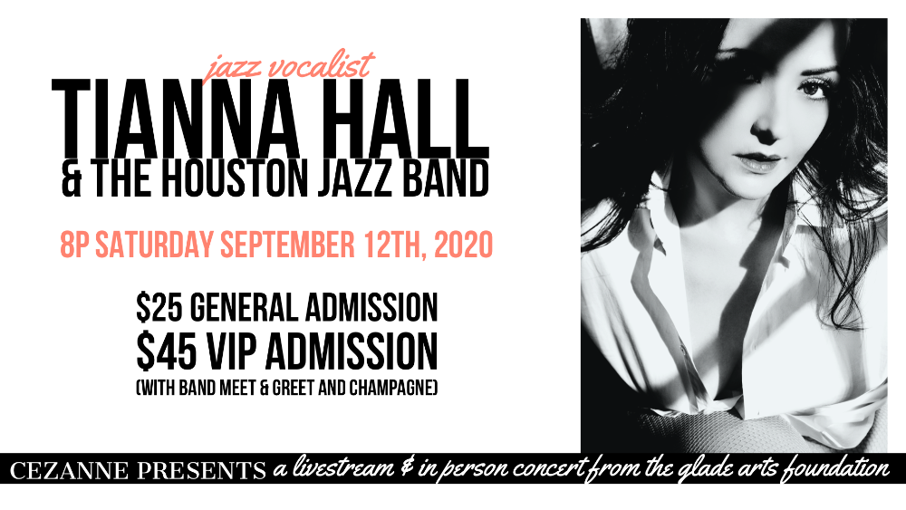 Cezanne Presents: Tianna Hall and the Houston Jazz Band