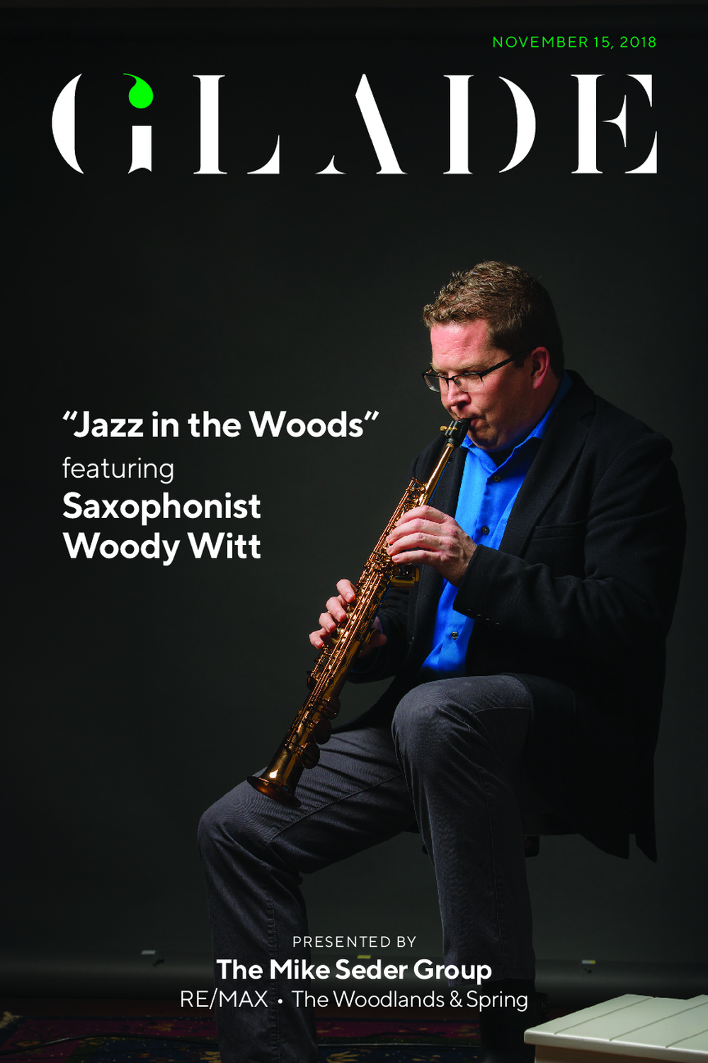 Jazz in the Woods Concert with Woody Witt