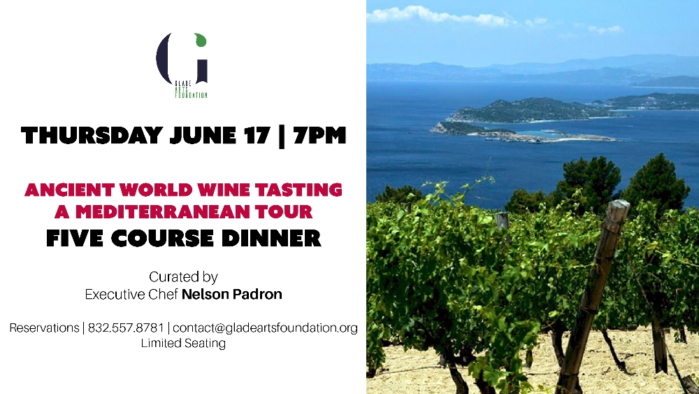 Ancient World Wine Tasting - A Mediterranean Tour and Five Course Pre Fixe Dinner